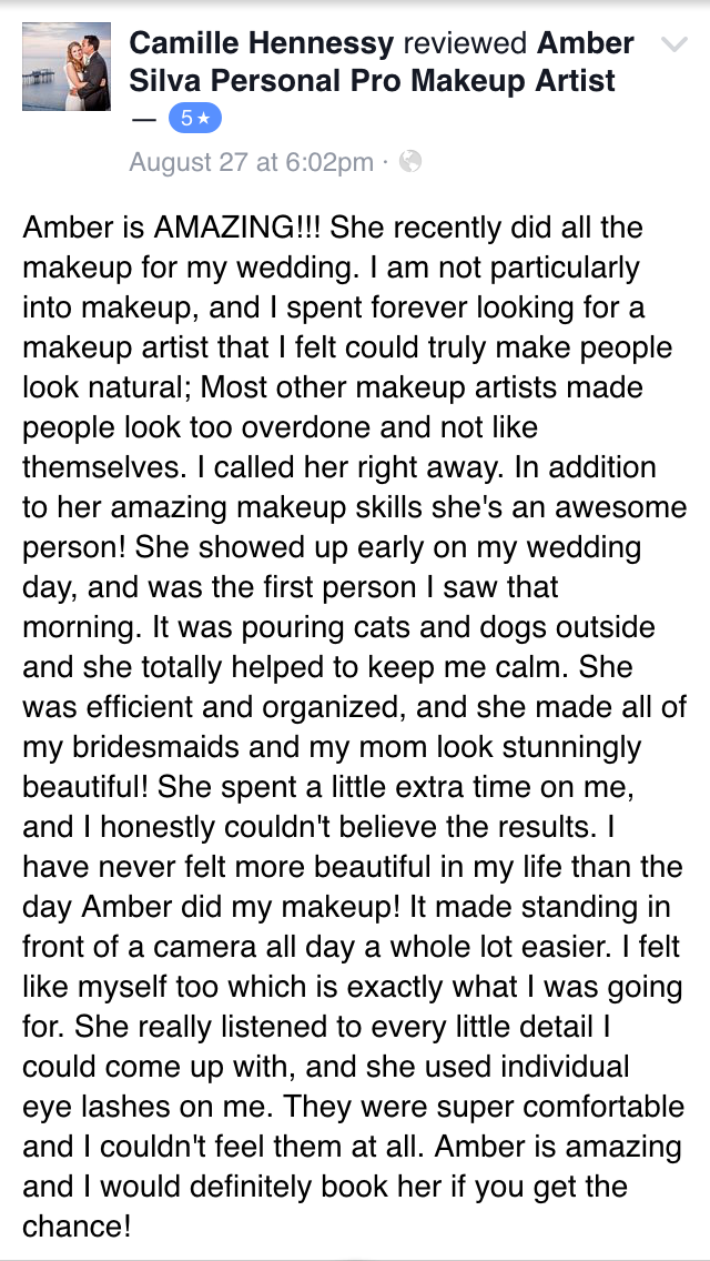 Highly rated Makeup Artist in San Diego for wedding